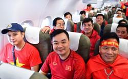 Tập đoàn Masan thuê máy bay Boeing 787 của Vietnam Airlines đưa cổ động viên cổ vũ đội tuyển Việt Nam