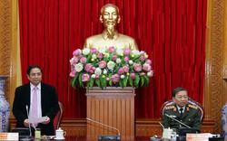 Đoàn kiểm tra của Bộ Chính trị làm việc tại Bộ Công an