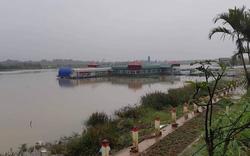 Hải Dương:  Công trình không phép ngang nhiên xây dựng trên sông Thái Bình