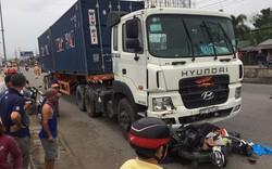 Hình ảnh thảm khốc tại hiện trường vụ Xe container gây tai nạn liên hoàn ở Long An