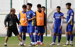 Đội tuyển Việt Nam đã có buổi tập đầu tiên năm 2019