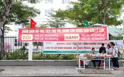 Một trường đại học ở Đà Nẵng mở điểm tiêu thụ hành, tỏi cho bà con nông dân Lý Sơn