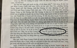 """Công an huyện Thanh Liêm (Hà Nam) nói gì về việc dân """"tố"""" cơ quan điều tra cố tình bỏ lọt tội phạm?"""