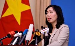 Việt Nam phản ứng việc tàu hải quân Mỹ đi qua Trường Sa