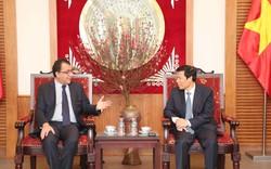 Bộ trưởng Nguyễn Ngọc Thiện tiếp Đại sứ Chile đến chào xã giao