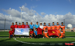 Đón Tết ở Trường Sa với món quà đặc biệt từ Đội tuyển bóng đá Việt Nam