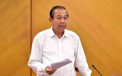 Phó Thủ tướng Trường Hòa Bình chỉ đạo xử lý vi phạm trong việc cấp giấy chứng nhận quyền sử dụng đất ở Hà Nội  và Bình Dương