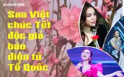 Dàn sao Việt cùng chúc Tết báo điện tử Tổ Quốc