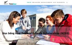 36 suất học bổng Chính phủ New Zealand dành cho học sinh Trung học Việt Nam
