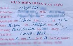 Nghệ An: Nam sinh viên Đại học Kiến trúc Hà Nội treo cổ tự tử để lại giấy vay nợ 2 triệu đồng