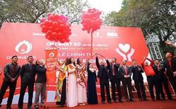 Văn Quyết, Đình Trọng tham gia Chủ nhật Đỏ 2019 tại Hà Nội