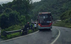 Xe khách chở đoàn sinh viên lao xuống vực ở đèo Hải Vân?