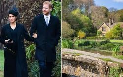 Bỏ lâu đài sang trọng, vợ chồng Hoàng tử Harry về ở khu trang trại tuyệt đẹp này