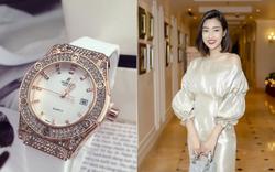 Hoa hậu Đỗ Mỹ Linh thừa nhận thấy oai khi đeo đồng hồ nửa tỷ đồng nhưng lại đột ngột rao bán