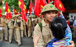 Tái hiện ký ức hào hùng đoàn quân chiến thắng trở về tiếp quản thủ đô Hà Nội 65 năm trước