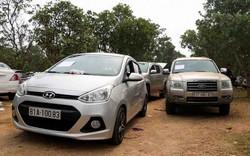 """Gia Lai: Truy tìm chủ 19 xe ô tô bị """"bỏ quên"""" tại sòng bạc"""