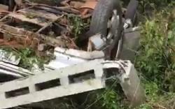 Xe khách mất lái, 4 người nhập viện nguy kịch
