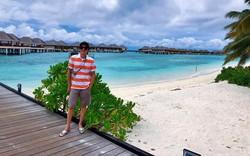 Danh hài Hoài Linh đi nghỉ dưỡng ở Maldives