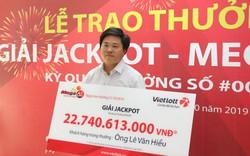 Công khai danh tính chủ nhân vé Vietlott trúng thưởng gần 23 tỷ đồng