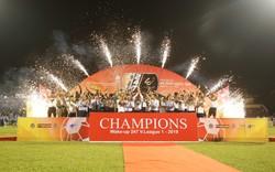 Hà Nội FC nâng cao Cup vô địch V-League 2019 sau thất bại trước Than Quảng Ninh
