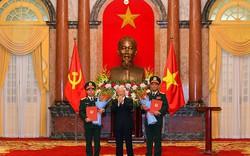 Tổng Bí thư, Chủ tịch nước trao Quyết định thăng quân hàm Thượng tướng cho các sĩ quan cao cấp
