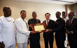 Những hoạt động đầu tiên của Phó Thủ tướng Vương Đình Huệ tại Nam Phi