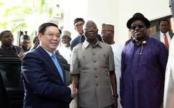 Phó Thủ tướng Vương Đình Huệ: Việt Nam mong muốn giao lưu văn hoá, thể thao với Nigeria