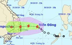 Học sinh Bình Định nghỉ học từ chiều 30/10 để ứng phó cơn bão số 5
