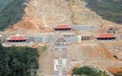 Hà Giang: Tạm dừng thi công khu du lịch sinh thái văn hóa tâm linh Lũng Cú