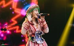 Hoàng Thùy Linh biểu diễn trong Lễ hội âm nhạc quốc tế gió mùa