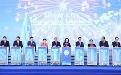 Thủ tướng Nguyễn Xuân Phúc dự lễ động thổ và công bố dự án Thành phố Thông minh đầu tiên tại Hà Nội
