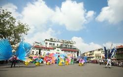 Ấn tượng lễ hội Carnival đường phố chào mừng '65 năm Giải phóng Thủ đô'