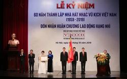 Lễ Kỷ niệm 60 năm Ngày thành lập Nhà hát Nhạc Vũ Kịch Việt Nam (1959-2019) và đón nhận Huân chương Lao động hạng Nhì của Chủ tịch nước