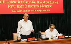 Phó Thủ tướng Thường trực làm việc với TPHCM về phòng, chống tham nhũng