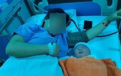 Phẫu thuật cho sản phụ, đưa bé trai nặng 5,1kg ra ngoài an toàn