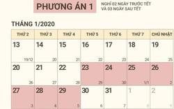 Chính thức có lịch nghỉ Tết Nguyên đán Canh Tý- 2020