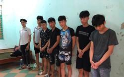 Nhóm thanh thiếu niên dùng hung khí hỗn chiến trong đêm