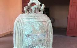 Bảo tàng tỉnh Hà Tĩnh tiếp nhận quả chuông đồng cổ thời Trần