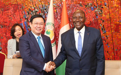 Phó Thủ tướng Vương Đình Huệ: Tiềm năng hợp tác giữa hai nước Việt Nam - Bờ Biển Ngà rất lớn