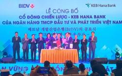 Tập đoàn Tài chính Hana là đối tác chiến lược của BIDV