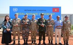 Liên Hợp Quốc trao tặng Huy chương vì sự nghiệp Gìn giữ hòa bình cho các