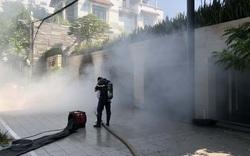 Đà Nẵng: Tầng hầm của biệt thự khói bốc lên nghi ngút