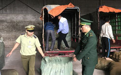 Bắt giữ nhiều xe ba bánh giả danh thương binh để vận chuyển hàng hóa nhập lậu