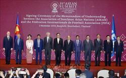 Thủ tướng dự Lễ ký Bản ghi nhớ giữa ASEAN và FIFA