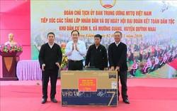 Chủ tịch Ủy ban Trung ương Mặt trận Tổ quốc Việt Nam dự Ngày hội Đại đoàn kết toàn dân tộc tại Sơn La