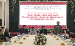 Tổ chức Hội thảo khoa học quốc gia về nhà viết kịch Xuân Trình