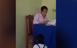 Cô giáo ném vở học sinh xuống đất bị kỷ luật về mặt Đảng