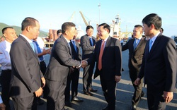 Phó Thủ tướng Vương Đình Huệ đề nghị Vinalines và Tiên Sa đẩy mạnh kết nối với các doanh nghiệp logistics