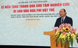 """Thủ tướng Nguyễn Xuân Phúc: """"Văn hóa chính là sự kết tụ, bồi lắng như thạch nhũ, hạt ngọc trai trải qua suốt chiều dài lịch sử dân tộc"""""""