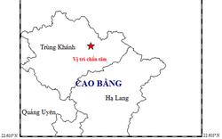 Động đất 5,4 độ rích - te tại Trùng Khánh, Cao Bằng